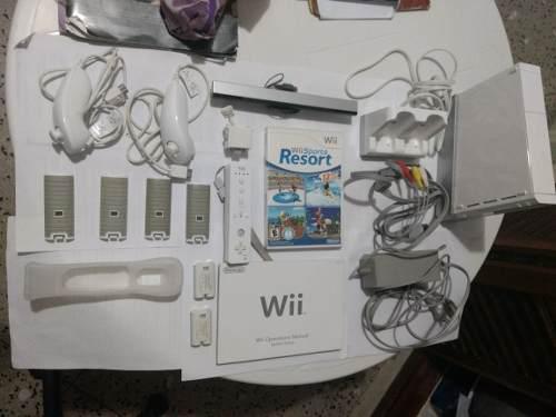 Nintendo Wii Full Accesorios + Baterías Recargables