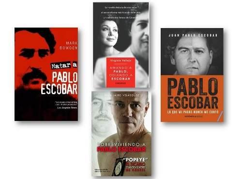 Pack: 4 Libros De Pablo Escobar - Pdf