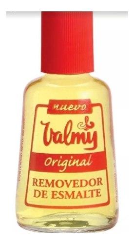 Acetona Removedor De Esmalte Valmy 50 Cc Para Uñas Unidad