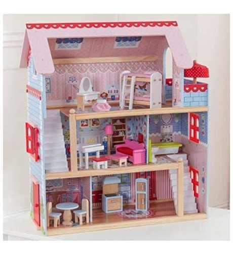 Casa De Muñecas Para Lol Marca Kidkraft Modelo Chelsea