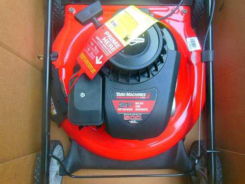 Corta Grama Yard Machine Briggs & Stratton 500