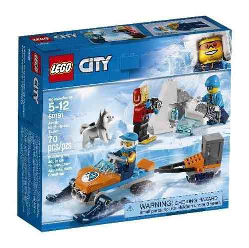 Lego City Moto Exploradora Del Ártico 60191