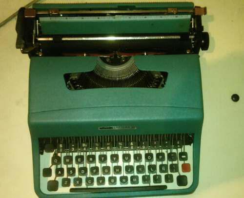 Máquina De Escribir Manual Olivetti Lettera 32 (10vrds)