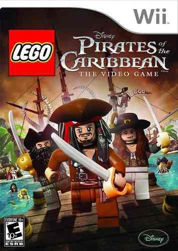 7 Juegos Wii Original Star Wars Anubis Piratas De Caribe Etc