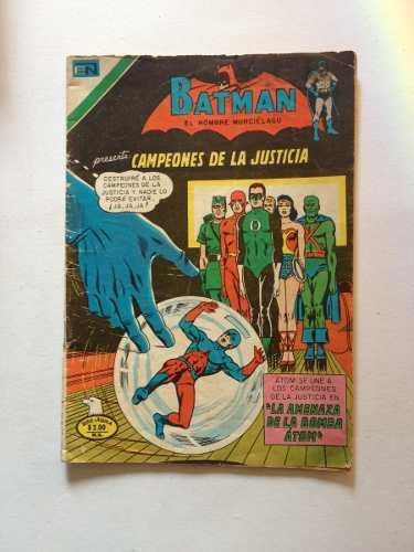 Batman Presenta: Campeones De La Justicia - Novaro /