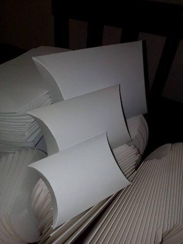 Cajas Blancas, De Cartón, Empaque,joyeria 10x10 (36 Pzas.)