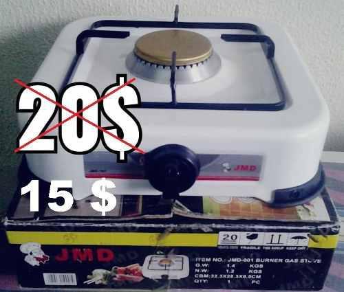 Cocina A Gas De Una Hornilla, Poco Uso, Casi Nueva 15vrds
