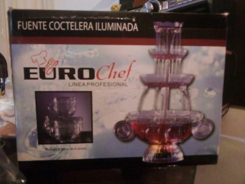 Coctelera Ilumunada Euro Chef