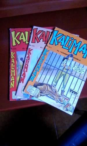 Combo De 3 Revistas De Kaliman En Fisico