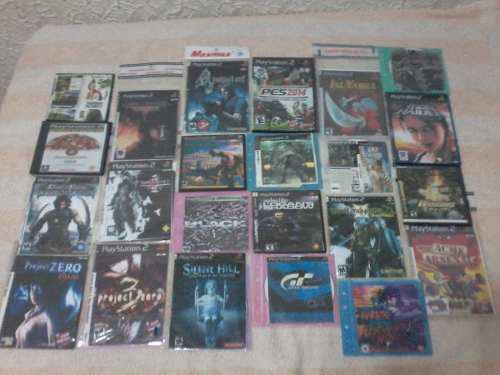 Discos De Juegos Playstation 2 Y Nintendo Wii Lote Mínimo 3