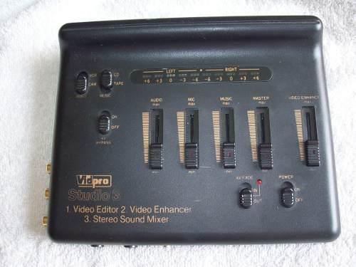 Editor De Audio Y Videos Studio 3.marca Vidpro. 1.000.000.