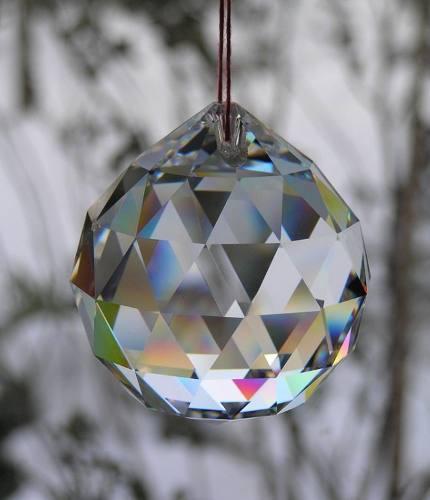 Esferas De Cristal Feng Shui Facetada Salud Amor Prosperidad