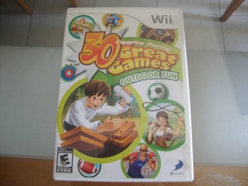 Juego Para Wii 30 Greats Games Original