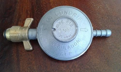 Kit Regulador Para Bombona De 18 Y 43 Kg Con Rosca