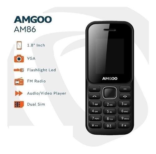 Telefono Celular Amgoo Am86 **pantalla Agrietada**