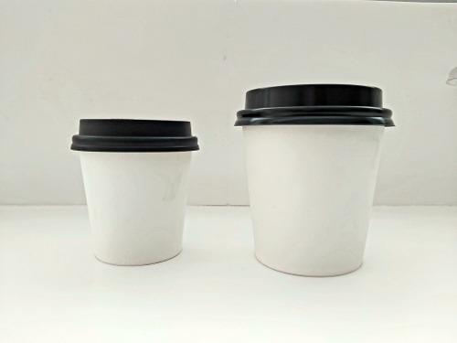 Vasos De Carton Para Cafe Con Tapa 4 Oz 6 Oz Y 8 Oz