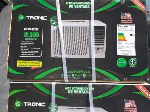 Aire Acondicionado De 12000btu Ventana Gtronic