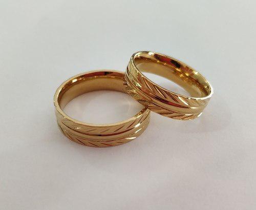 Anillos De Matrimonio En Acero Inoxidable