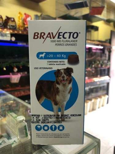 Bravecto Para Perros De 20 A 40 Kg