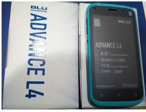 Celular Blu Advance L4, En 53verd, Whatsapp, Los Teques
