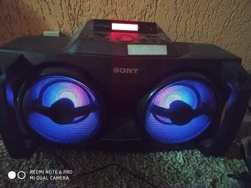 Corneta Sony Con Entrada Para iPod, Usb Y Aux