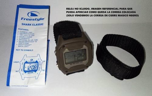 Correa Reloj Freestyle Killer Shark Cierre Magico Oferta