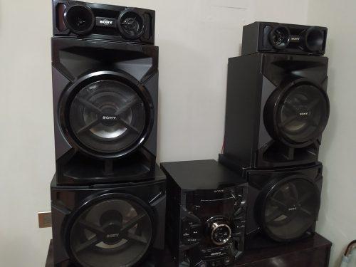 Equipo De Sonido Sony Genezi Grt  Watts Casi Nuevo