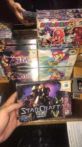 Nintendo 64 Juegos