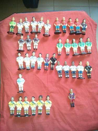Coleccion 38 Futbol Figuras Minigols Originales Buen Estado