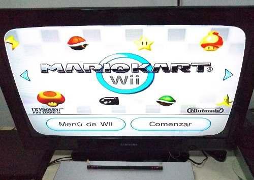 Consola De Wii En Excelente Estado Con Juego De Mario Kart