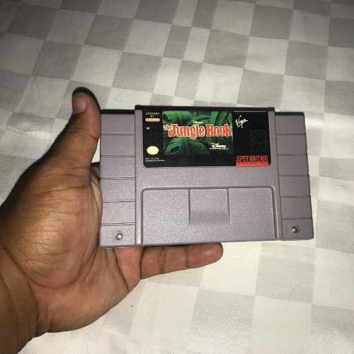 Juegos Super Nintendo Snes (5v) El Libro De La Selva
