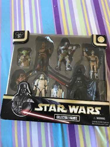 Star Wars Figuras De Colección (8 Figuras)