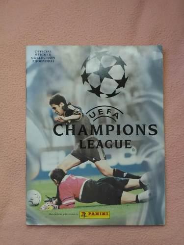 Album De La Champions League 2000-2001