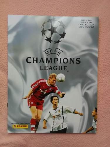 Album De La Champions League 2001-2002