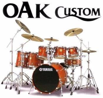 Batería Yamaha Oak Custom 6 Piezas