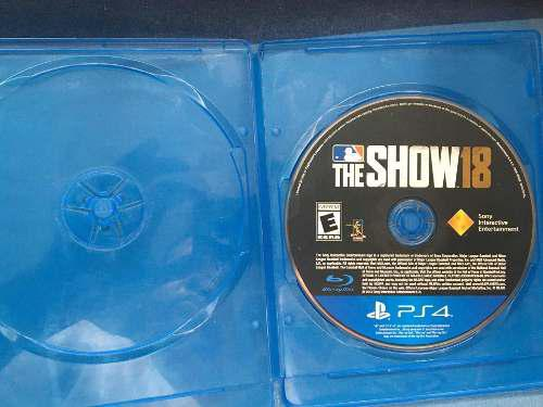 Juego Ps4 Mlb The Show 18