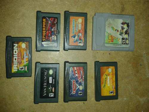 Juegos De Game Boy Advance Sp Gameboy Gba Gba 2vdes