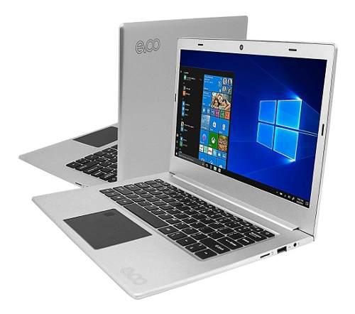 Laptop Ultra Delgada Evoo 12.5 Hd Lector Huella. 150 Trump