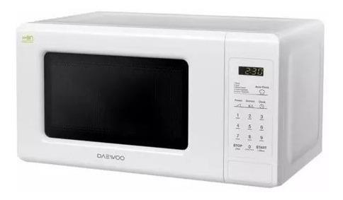 Microondas De 20 Litros Daewoo Blanco