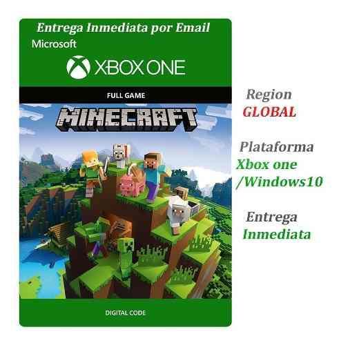 Minecraft Xbox One Codigo Original Multiregion