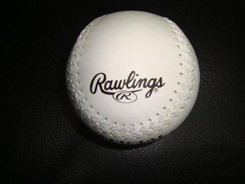 Pelotas Rawling De Softball Sintetica Blanca L3o