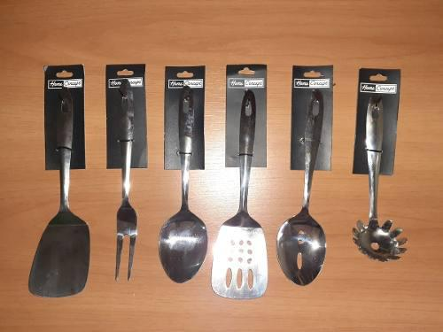 Utensilios De Cocina Metalicos Pequeños 24cm Acero H