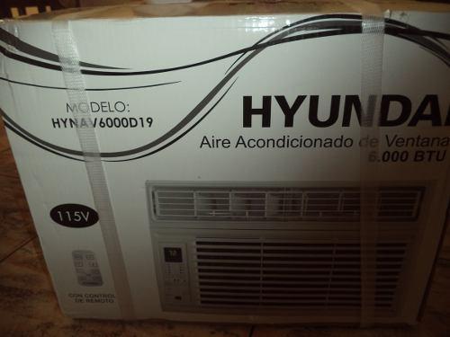 Aire Acondicionado Ventana Hiunday 6000 Btu