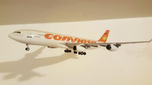 Avion A Escala  Airbus A Conviasa