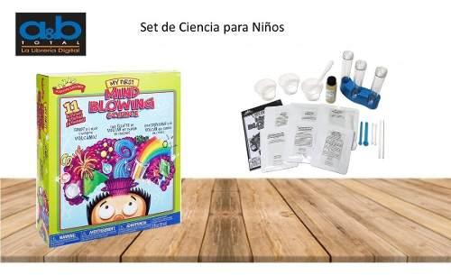 Set De Ciencia Para Niños
