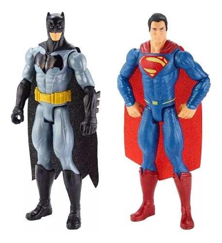 Batman Vs Superman: El Origen De La Justicia Combo 2 Figuras