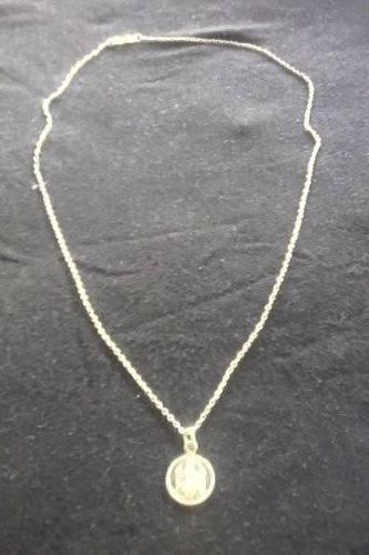 Cadena De Plata 50 Cmts Con Medalla De La Virgen De Coromoto
