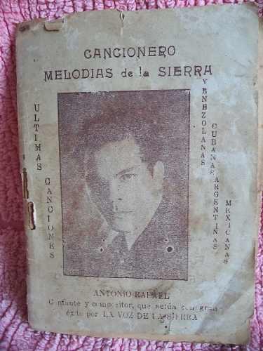 Cancionero Melodías De La Sierra Estado Mérida