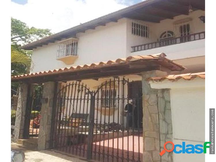 Casa en Venta Macaracuay JF6 MLS19-18115