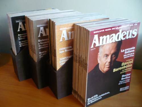 Colección Revista Amadeus - Música Clásica - España -